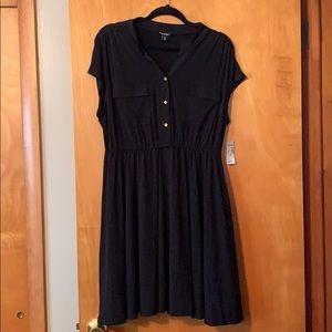 BRAND NEW roz&ALI black dress
